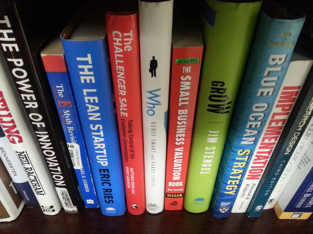entrepreneurship books